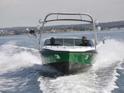 Century rv skiboat sports action